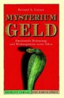 Mysterium Geld PDF