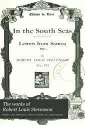 The Works of Robert Louis Stevenson: Volume 7