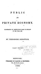 Public and Private Economy: Volume 3