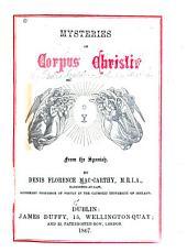 Mysteries of Corpus Christi