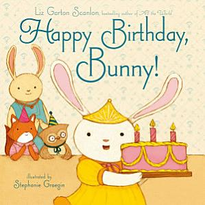 Happy Birthday  Bunny  Book
