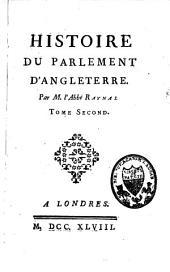 Histoire du parlement d'Angleterre: Volume2