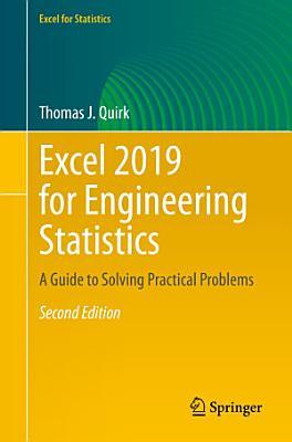 Excel 2019 for Engineering Statistics PDF