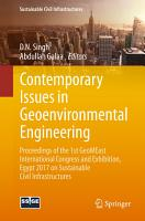 Contemporary Issues in Geoenvironmental Engineering PDF