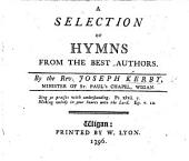 A Selection of Hymns from the best authors
