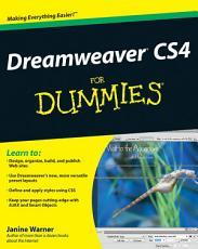 Dreamweaver CS4 For Dummies PDF