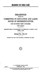 Hearings on Child Care