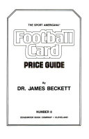 The Sport Americana Football Card Price Guide Number Eight