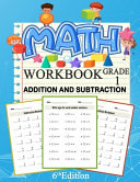 Math Addition And Subtraction Workbook Grade 1 6th Edition PDF