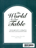 The World at Our Table Book