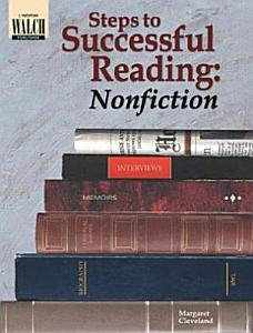 Steps to Successful Reading  Nonfiction Book