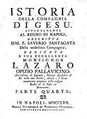 Istoria della compagnia di Giesu, appartenente al regno di Napoli: Volume 4