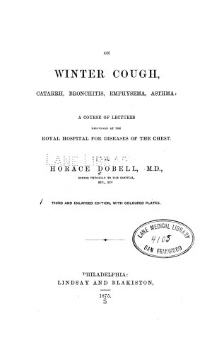 On winter cough