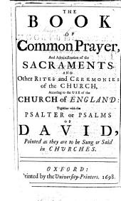 The Book of Common Prayer, Etc