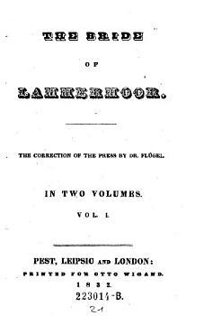 The bride of Lammermoor  Vol  I PDF