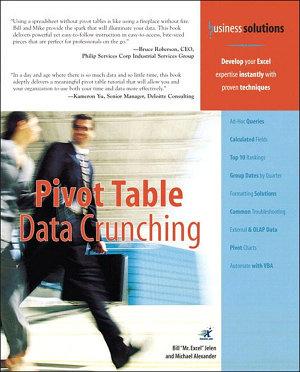 Pivot Table Data Crunching  Adobe Reader  PDF