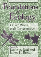 Foundations of Ecology PDF