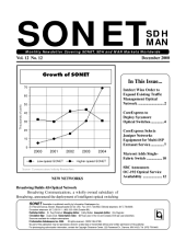 SONET, SDH, MAN Monthly Newsletter