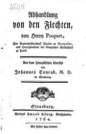 Traité des dartres. Abhandlung von den Flechten ... Aus dem Französischen übersetzt von Johannes Conrad