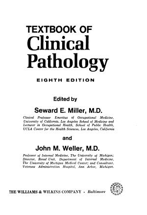 Textbook of Clinical Pathology PDF