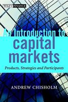 An Introduction to Capital Markets PDF