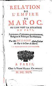 Relation de l'empire de Maroc