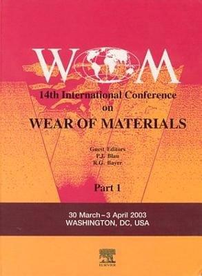 Wear of Materials PDF