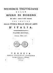 Memoire Trevigiane Sulle Opere di Disegno