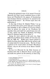 Bibliographical Catalogue of Privately Printed Books