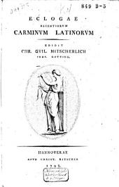 Eclogae recentiorum carminum Latinorum