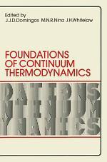Foundations of Continuum Thermodynamics