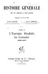 Histoire générale du IVe siècle à nos jours: Volume2