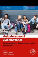 Adolescent Addiction PDF