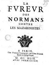 La Fvrëvr des Normans contre les Mazarinistes