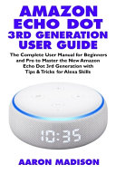 Amazon Echo Dot 3rd Generation User Guide PDF