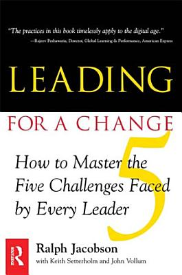 Leading for a Change