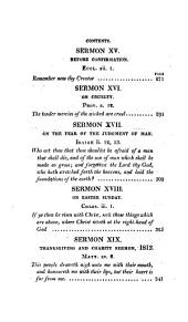 Sermons on moral and religious subjects adapted for the use of families