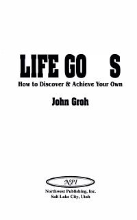 Life Goals PDF