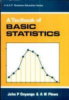 A Textbook of Basic Statistics PDF