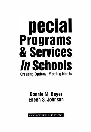 Special Programs   Services in Schools PDF