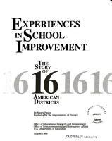 Experiences in School Improvement PDF