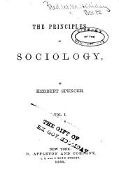 The Principles of Sociology: Volume 1; Volume 6; Volume 1884