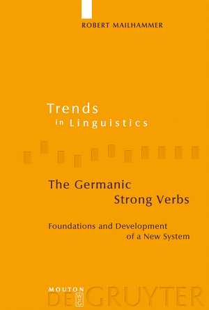 The Germanic Strong Verbs
