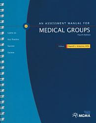 An Assessment Manual For Medical Groups Book PDF