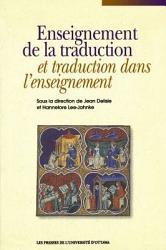 Enseignement de la traduction et traduction dans l enseignement PDF