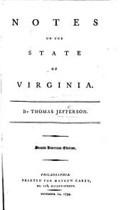 Notes on the State of Virginia, ... with a map