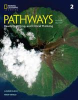 Pathways  Reading  Writing  and Critical Thinking 2 PDF