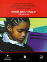 A Situational Analysis of Orphans and Vulnerable Children in Four Districts of South Africa PDF