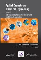 Applied Chemistry and Chemical Engineering  Volume 3 PDF