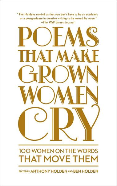 Download Poems That Make Grown Women Cry Book